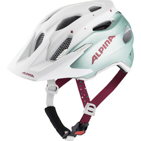 Alpina Carapax Casque Adolescents, pistachio-cherry